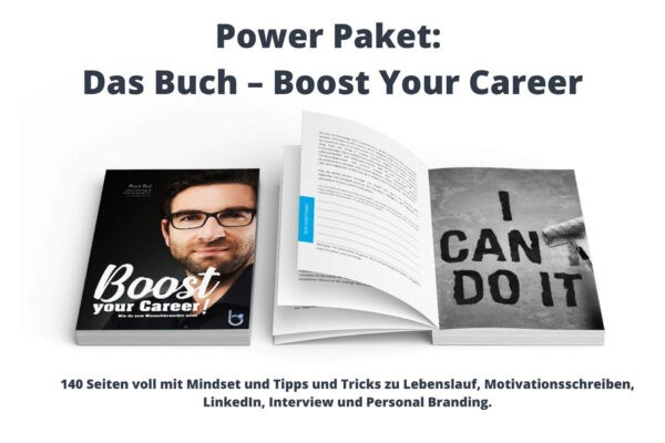 Boost your Career, Dani Ruf, Careerbooster, Lebenslauf, Personal Branding, LinkedIn, Kommunikation, Erfolg, Mindset